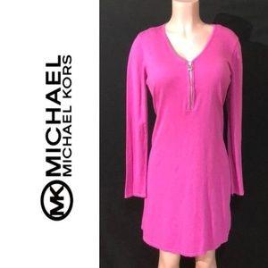 NWT MICHAEL KORS Long Sleevel Knit Sweater Dress
